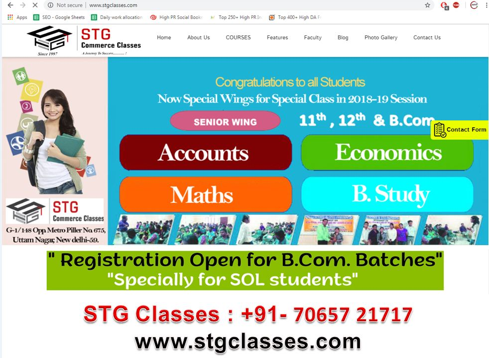 b.com coaching institutes in uttam nagar Accounts Classes in uttam nagar